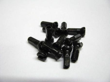 SAPIM Polyax Messingnippel schwarz 16 mm