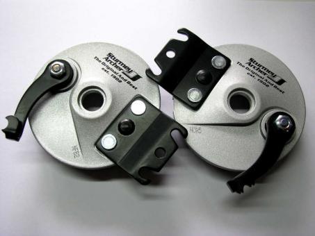 Sturmey Archer Bremsplatten-Set 90 mm  links und rechts