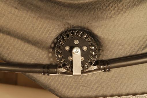 Käfig für Kettenrollen mit Ø 54 mm
