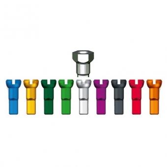 SAPIM Hexa Polyax Alunippel 14mm farbig