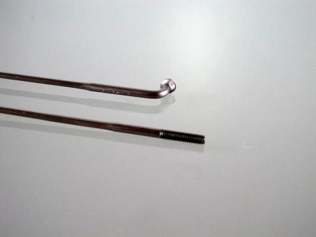 Sapim Laser, silber, bis 310mm, gekröpft