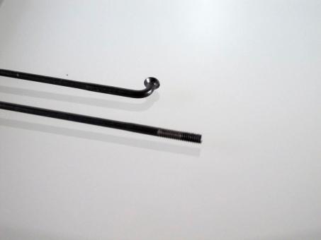 Sapim Race, schwarz, bis 310 mm, gekröpft