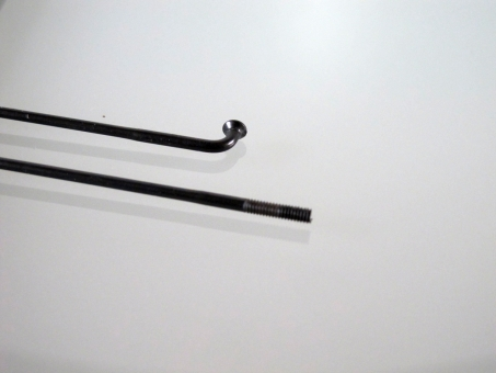 Sapim Race, schwarz, bis 185 mm, gekröpft